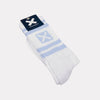 WHITE AMSTERDAM SOCKS
