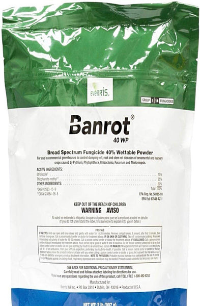 Fungicide - Banrot 40 WP Fungicide