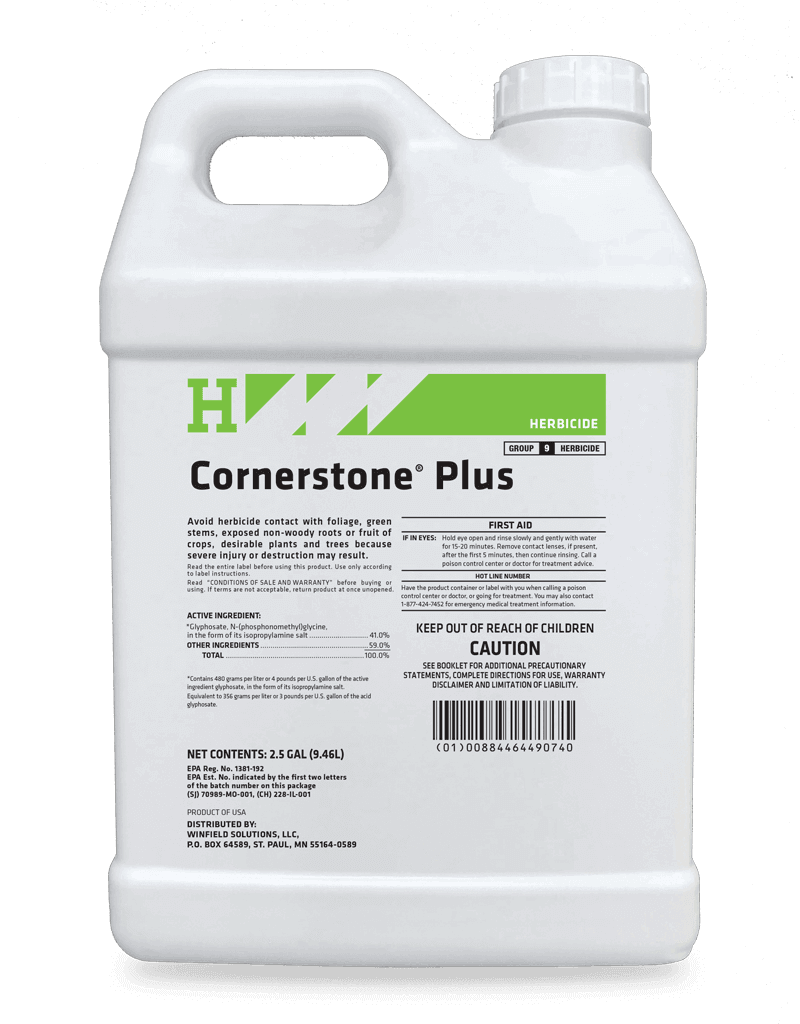 It's just a graphic of Massif Q4 Plus Herbicide Label