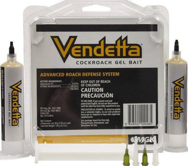 Insecticide - Vendetta Roach Bait Gel