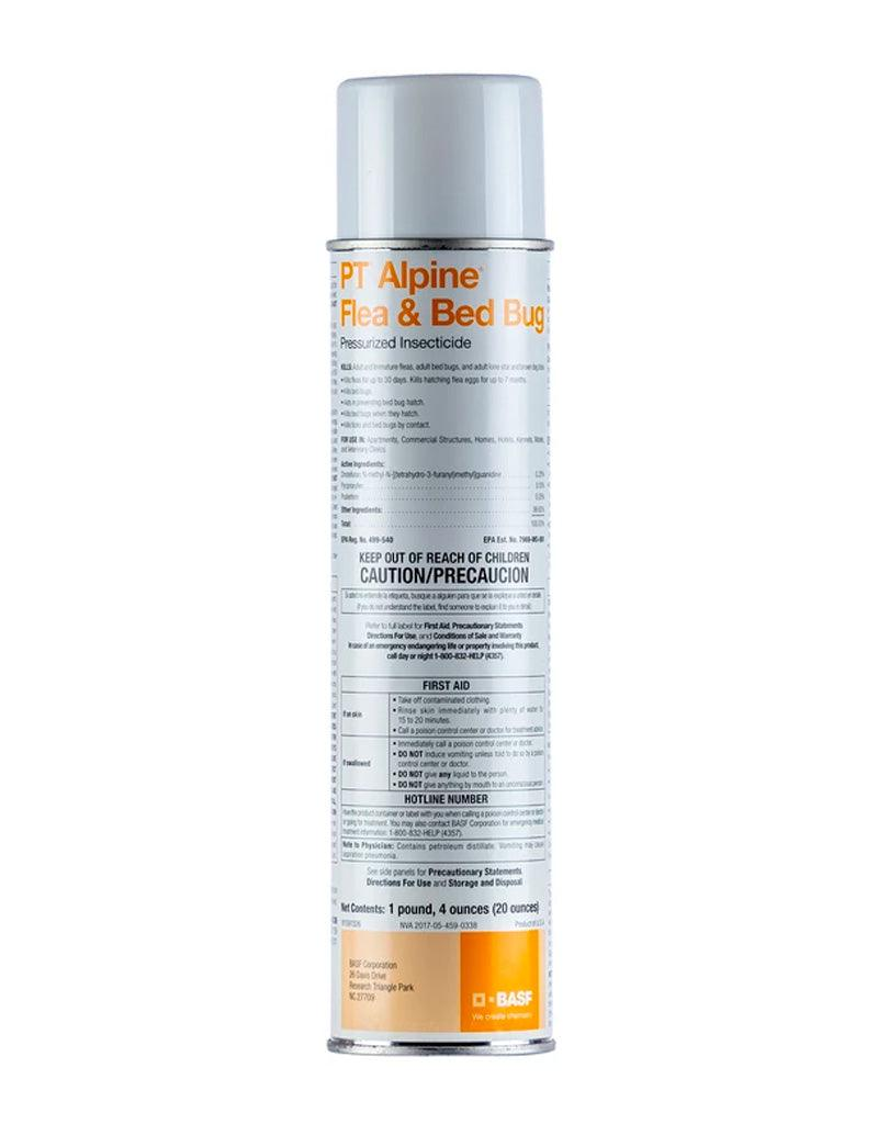 Insecticide - PT Alpine Flea And Bed Bug Insecticide Aerosol With IGR