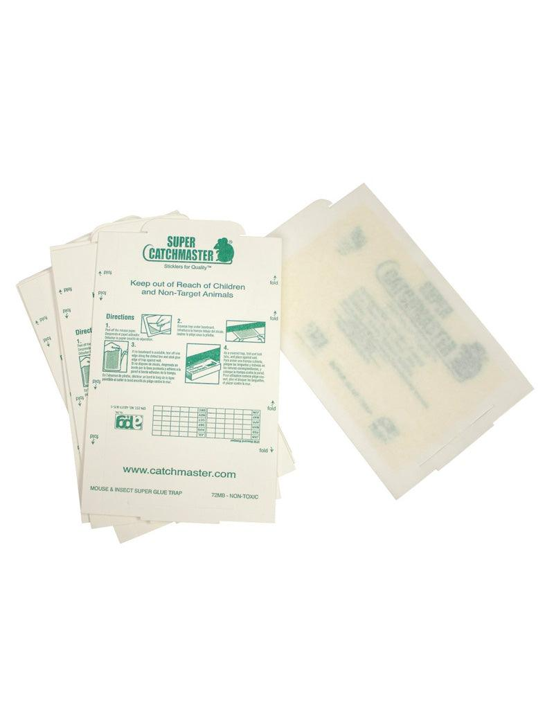 Traps - Catchmaster Mouse/Insect Glue Boards 72MB Unscented