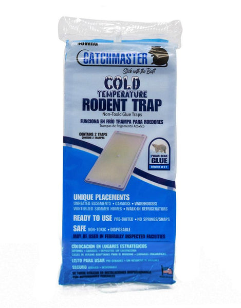Traps - Catchmaster 48WRG Cold Temperature Rodent Glue Board Traps