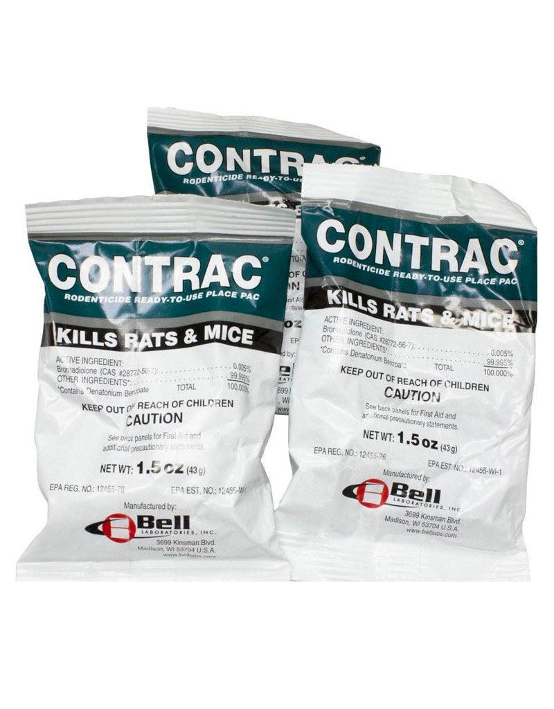 Insecticide - Contrac Rodenticide Ready-To-Use Place Pac