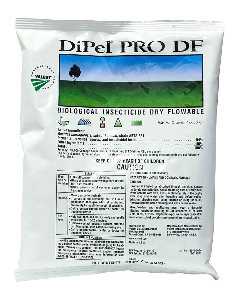 Insecticide - DiPel PRO DF Biological Insecticide OMRI Listed