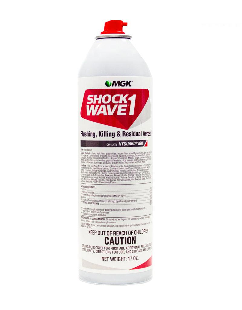 Insecticide - Shockwave 1 Flushing Killing And Residual Aerosol