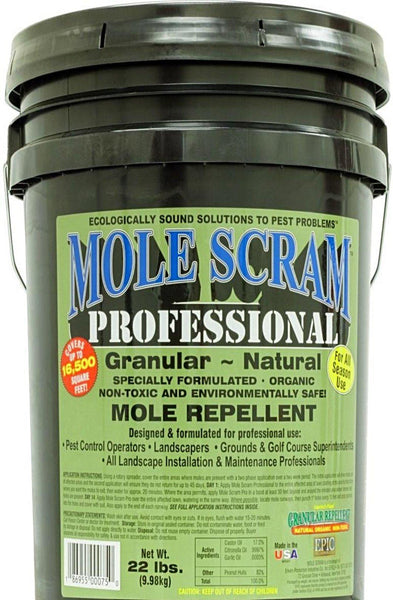 Repellents - Mole Scram Repellent