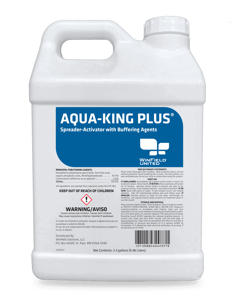 Surfactant - Aqua-King Plus Adjuvant For Aquatic Herbicides
