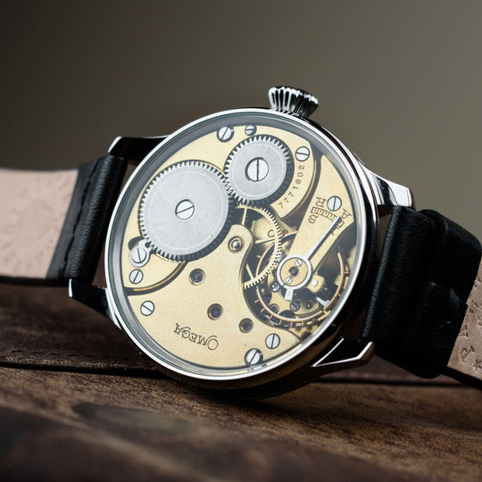 Mechanical watches Omega Model: Regulator Switzerland 1900s year original, mechanical 48 mm