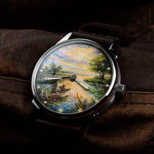 Mechanical Watch of the USSR. Model: Fisherman