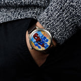 Spider-Man USSR mechanical watches art hand painting