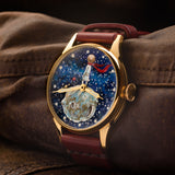 Watcch The Little Prince art hand-painted Dial USSR 45mm