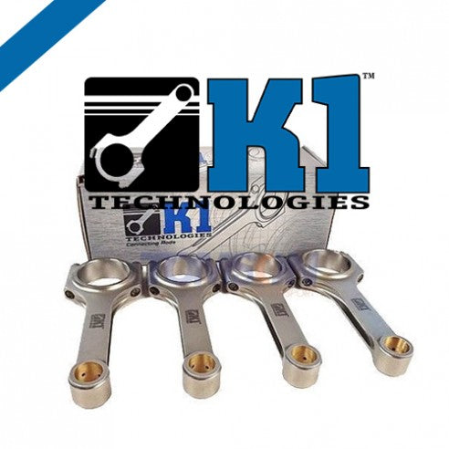 K1 H-Beam Connecting Rods - Set of 6 - Toyota Supra 2JZ-GTE K1-041DJ17142