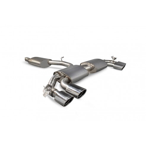 Scorpion Exhausts Reasonated cat-back (with valves)Ê for Audi TT S Mk3 SAU055