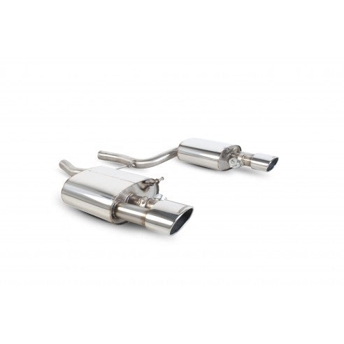Scorpion Exhausts Rear silencer only for Audi RS4 4.2 V8 B7 SAUB029