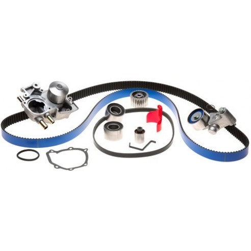 Gates Racing Timing Belt Kit inc. Water Pump - Subaru EJ25 Impreza WRX STI GA-TCKWP328RBSF