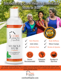 Core Health Essentials Muscle Rub