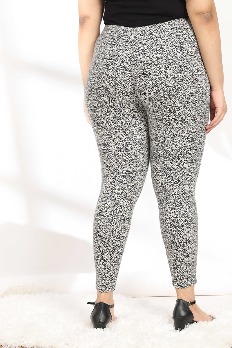 Tiger Weave Warm Leggings