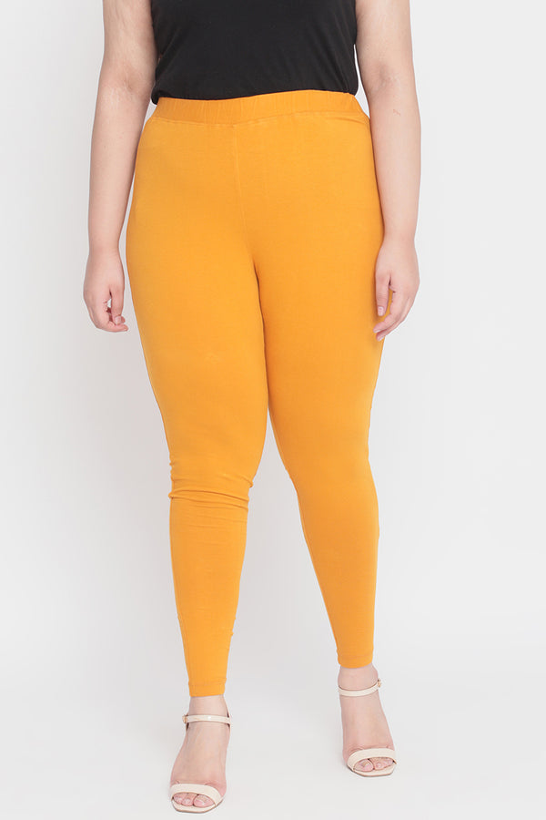 Mustard Basic Leggings