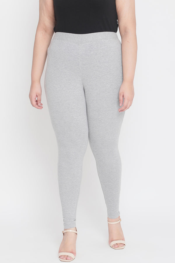 Grey Basic Leggings