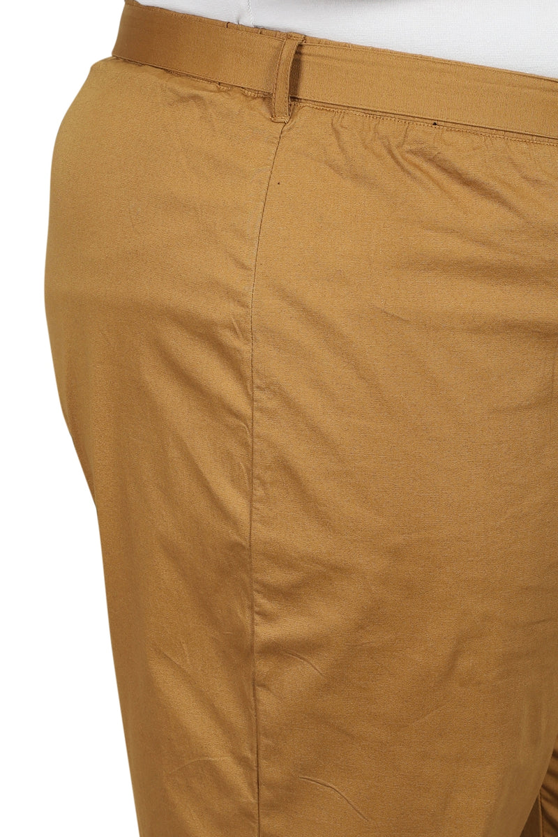 Golden Basic Stretchable Relax Trousers