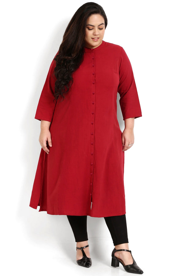 Chilly Princess Seam A-Line Kurti