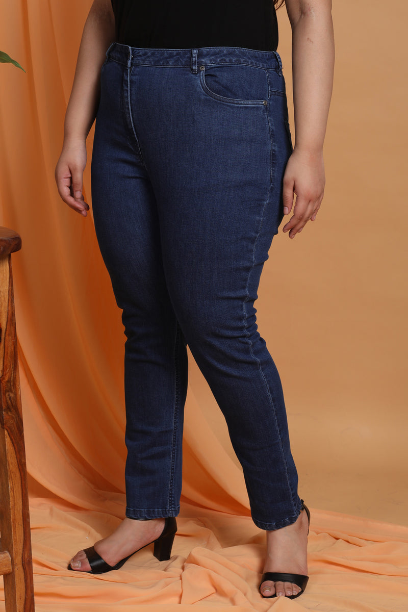Midnight Navy Wonder Fit Denim