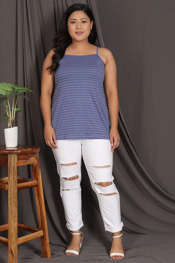 Blue Stripe Camisole