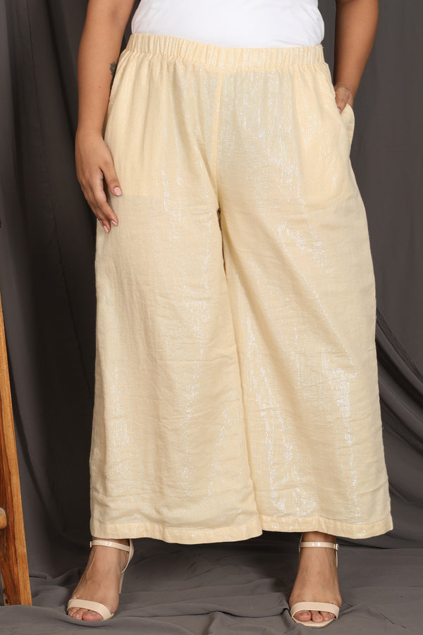 Light Gold Palazzo Pants