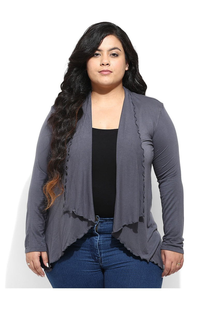 Grey Hosiery SHrug