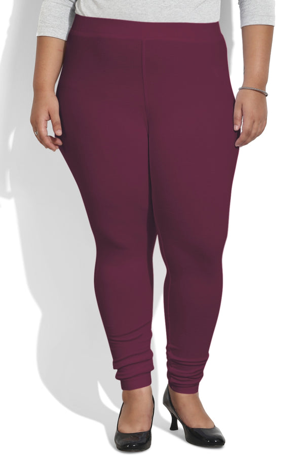 Plum Basic Leggings