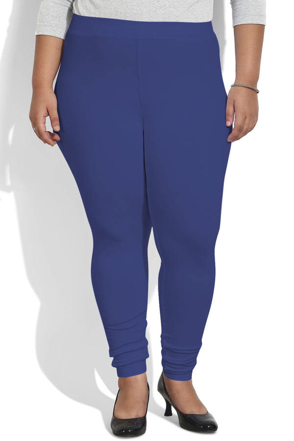 Royal Blue Basic Leggings