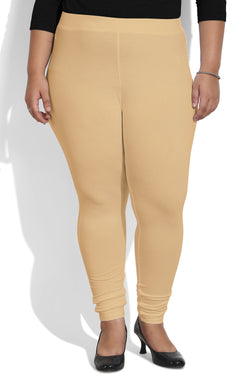 Beige Leggings