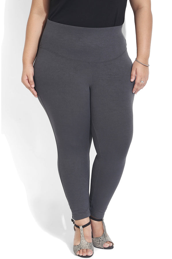 Charcoal Grey Essential Tummy Shaper Jegging