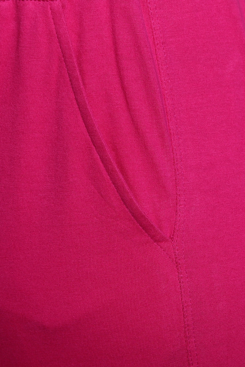 Pink Lounge Pants with Pockets