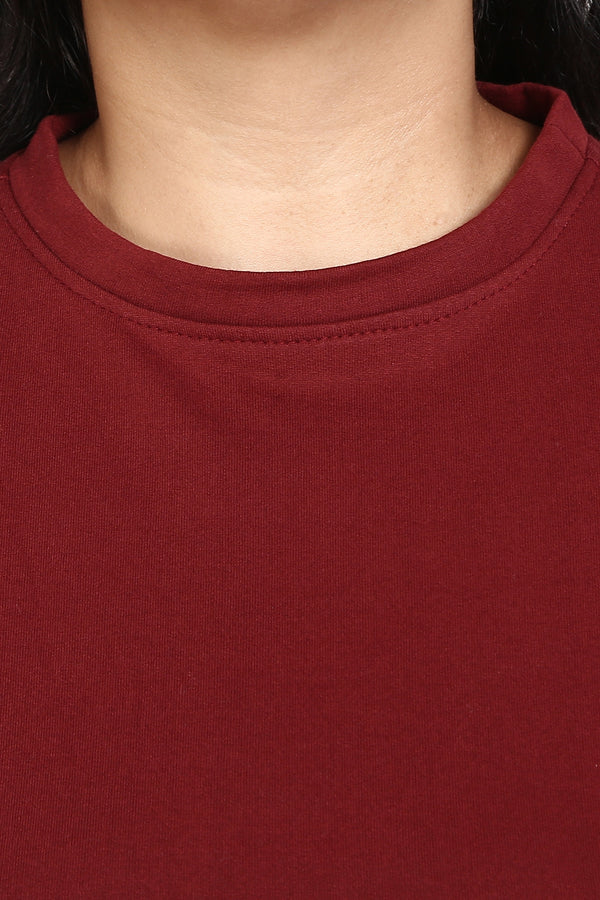 Maroon Essential Sweatshirt