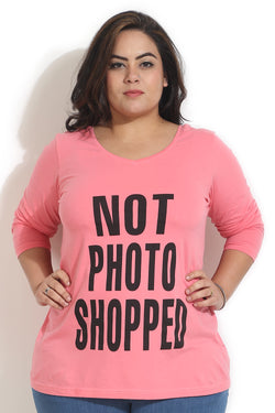 Peach Not PhotoShopped T Shirt