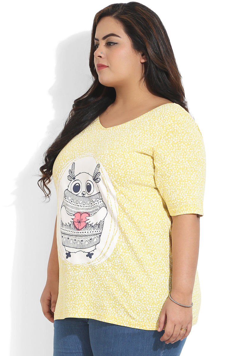 Yellow Owl T-Shirt