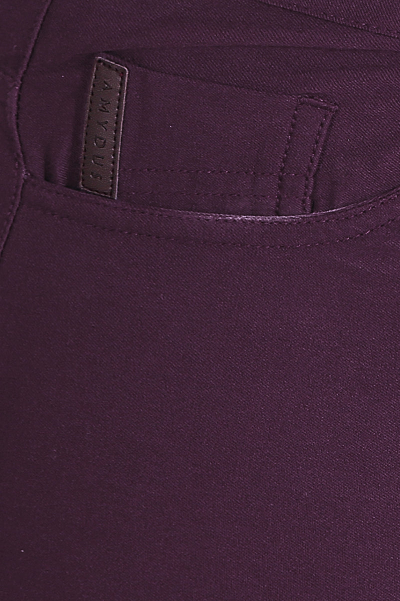 Plum Basic Stretch Pants