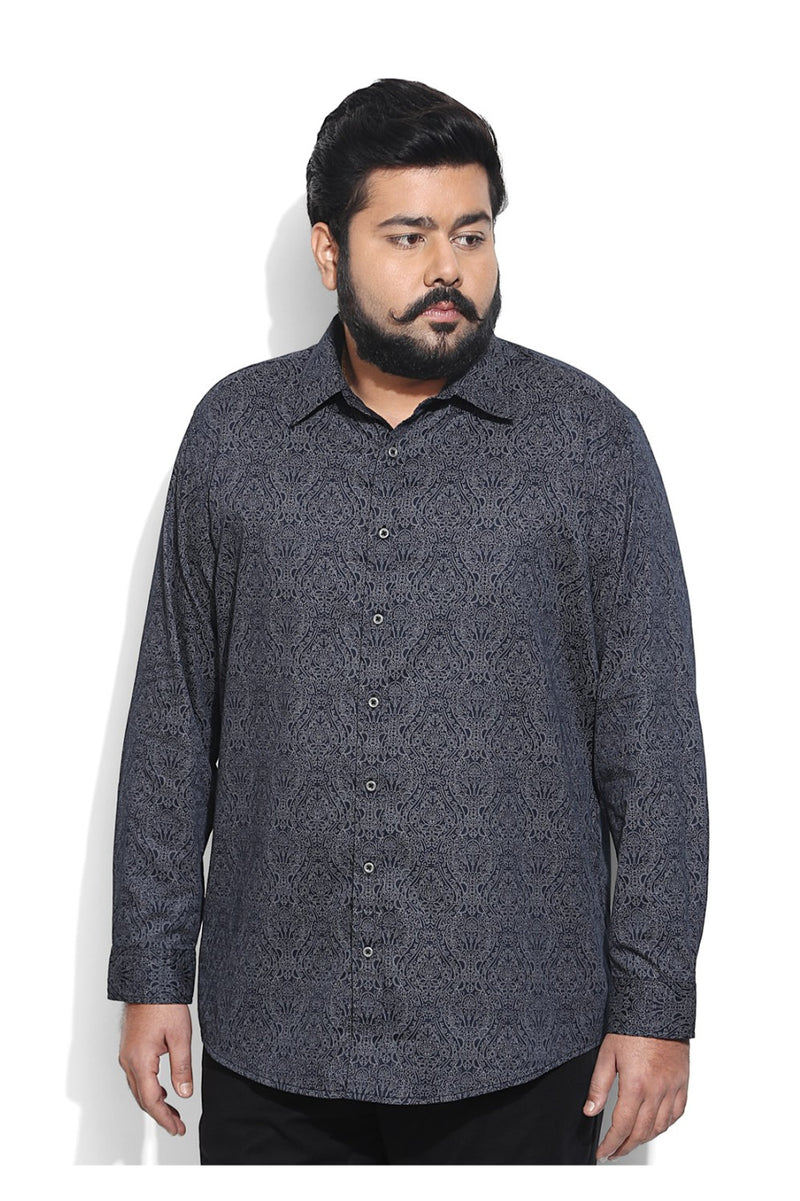 Black Paisely Shirt
