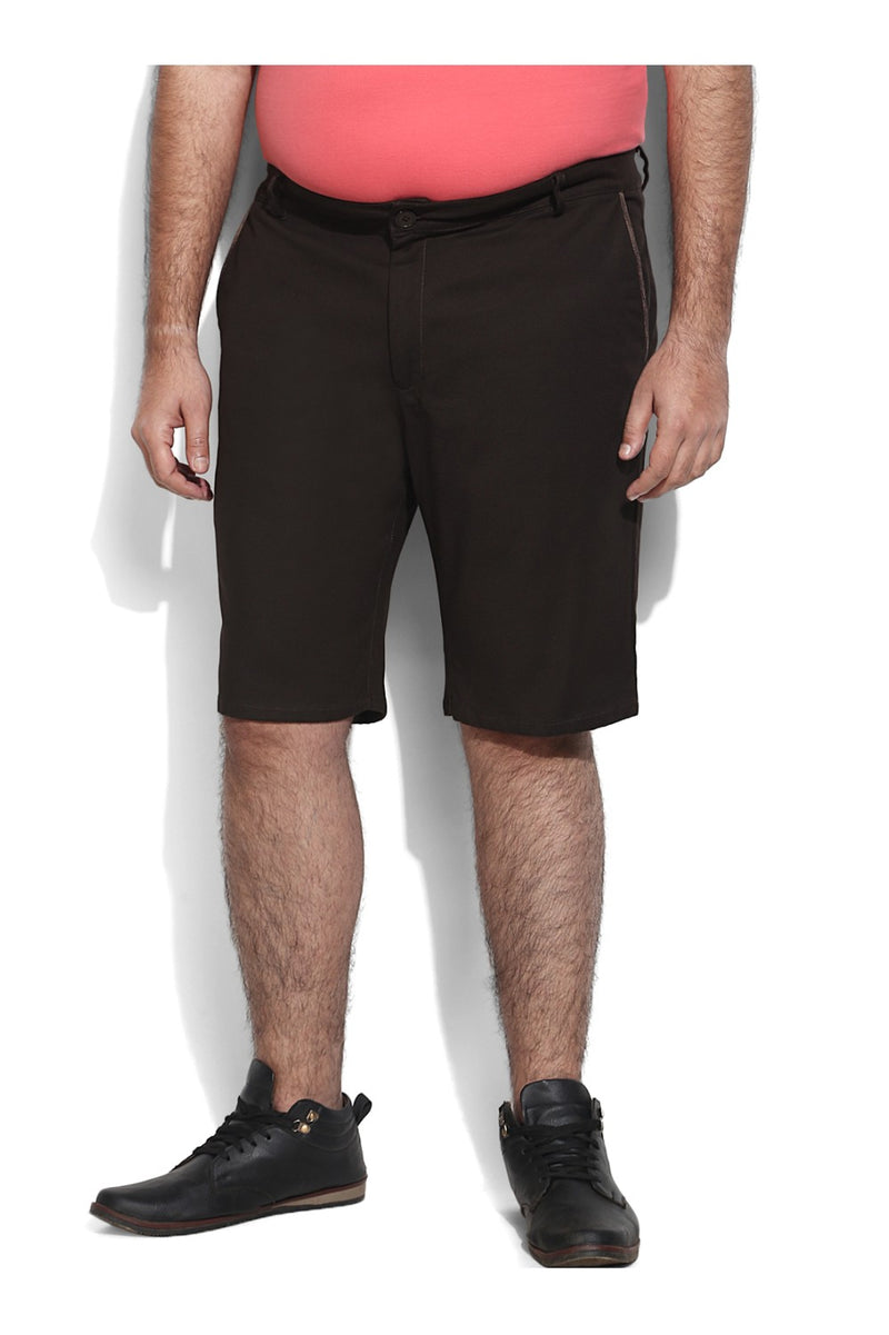 Cofee Brown Casual Shorts
