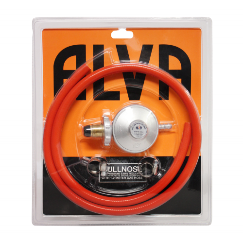 Bullnose Regulator & Hose Blister Pack