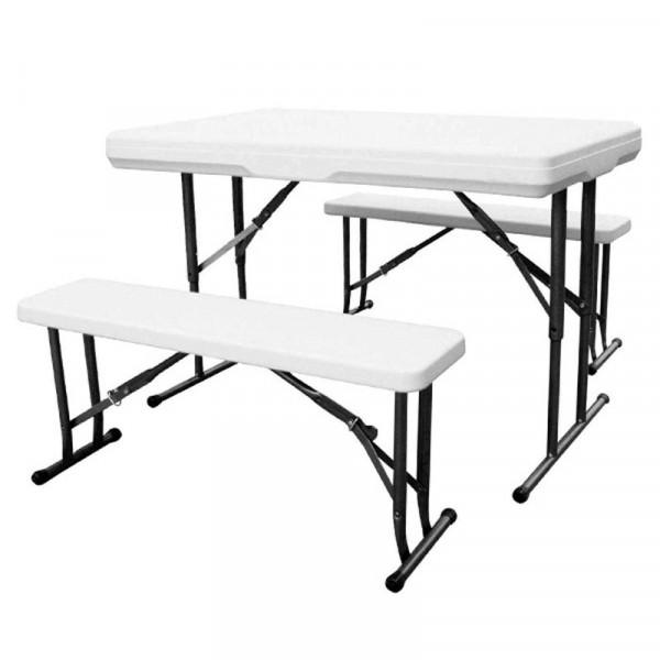 Kaufmann Table & Bench 3pc Picnic Set