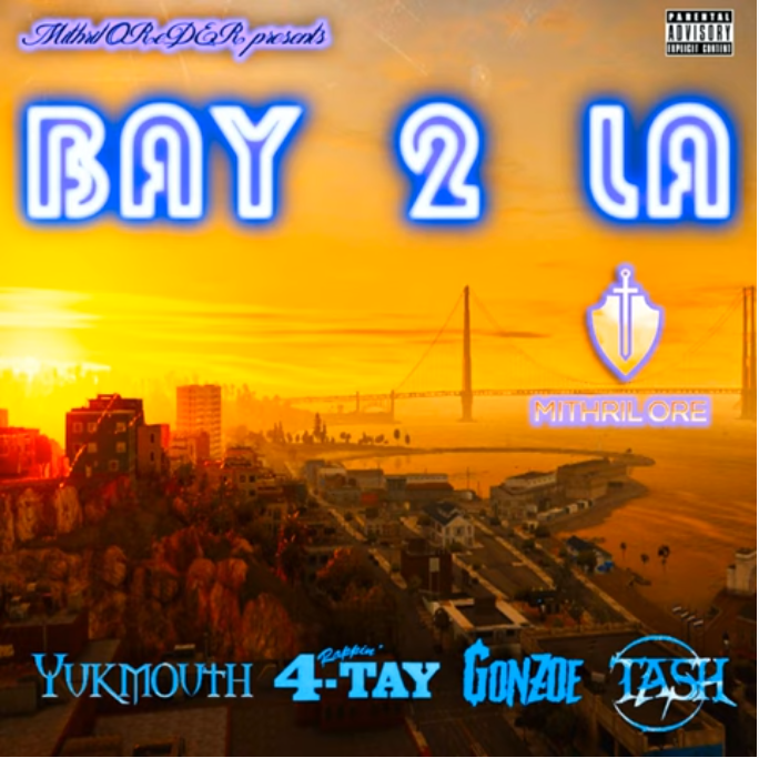 Bay 2 La (feat. Tash & Gonzoe) - Prod. Pyrit Music