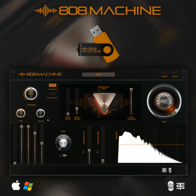 808 MACHINE (Vst) - Pyrit