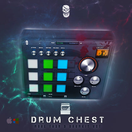 Pyrit Music - Drum Chest VST + Dark Sky Expansion (VST Instrument) - Pyrit