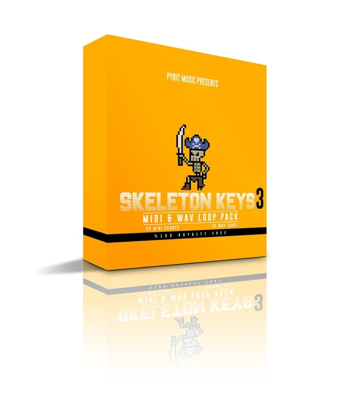 Skeleton Keys 3 MIDI & WAV Loop Pack