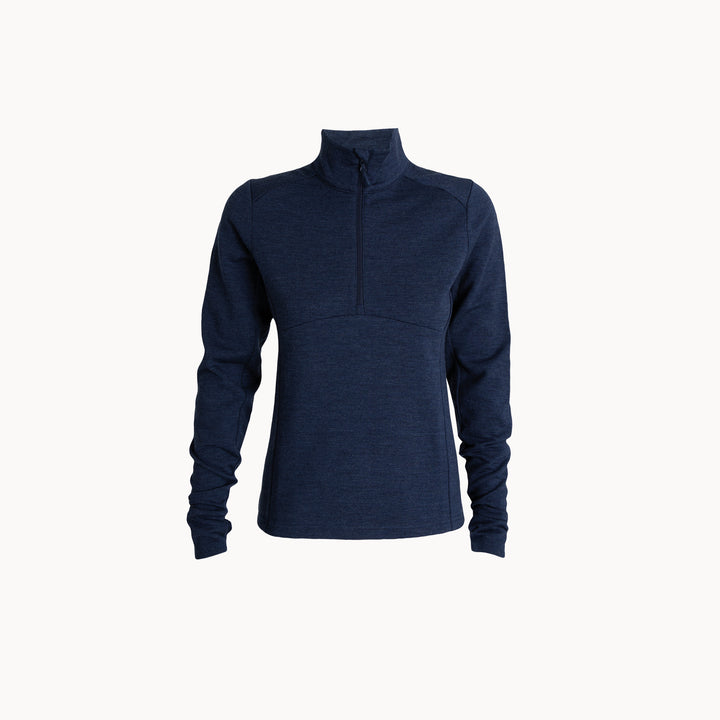 Women's Wool Fleece Half Zip
