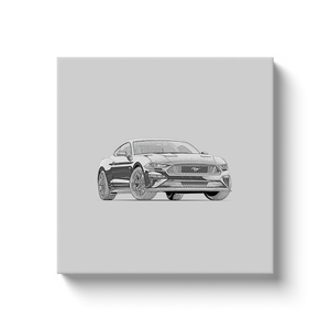 Ford Mustang GT (S550) Canvas Print