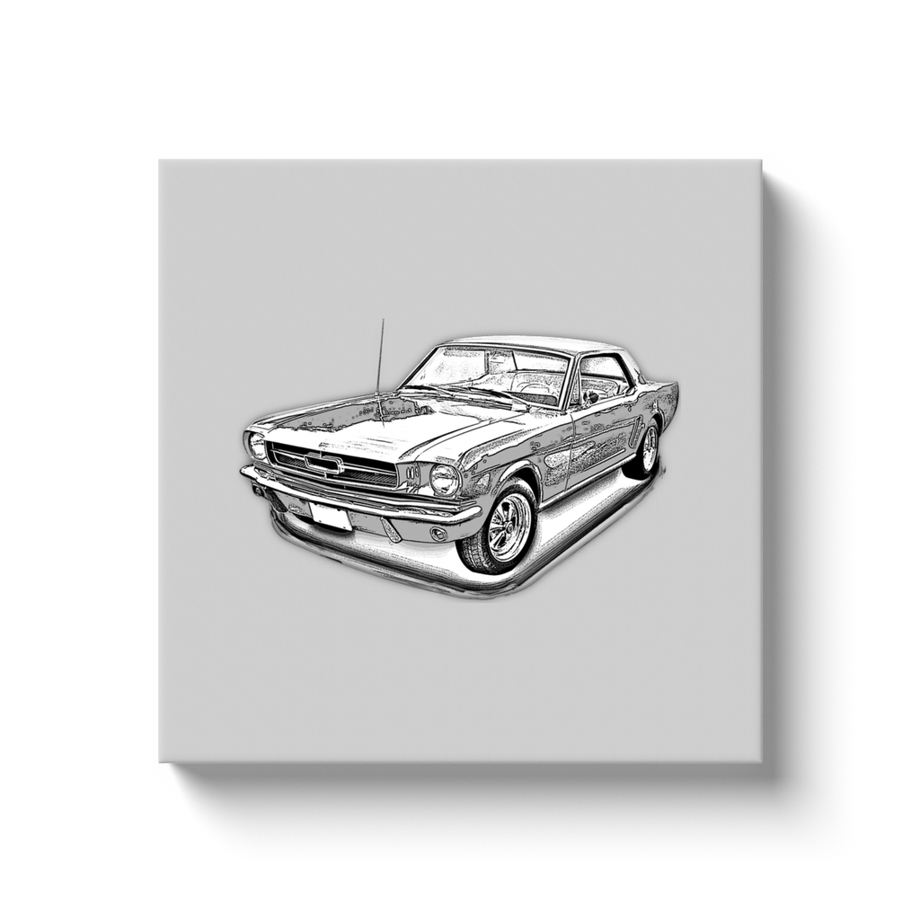 Ford Mustang (First Generation) Canvas Print